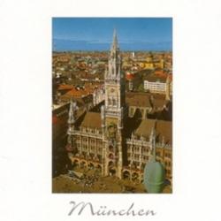Postkarte-Ansichtskarte-Muenchen-Rathaus-KM38