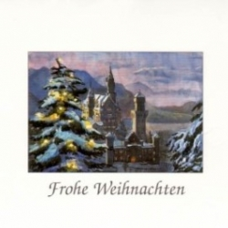 Postkarte-Ansichtskarte-Weihnachtskarte-Muenchen-KB110