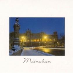 Postkarte-Ansichtskarte-Weihnachtskarte-Muenchen-KM28
