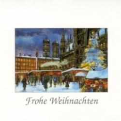 Postkarte-Ansichtskarte-Weihnachtskarte-Muenchen-KM300