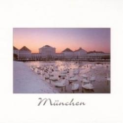 Postkarte-Ansichtskarte-Weihnachtskarte-Muenchen-KM90
