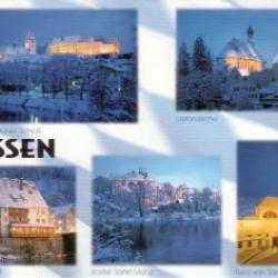 Postkarte-Ansichtskarte-Bayern-Allgaeu-Fuessen-Winter-90605