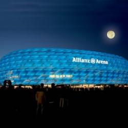 Postkarte-Ansichtskarte-Muenchen-Allianz-Arena-TSV-1860-RM92