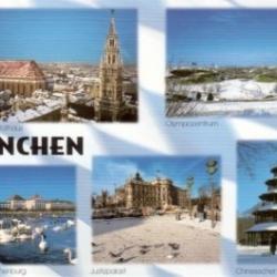 Postkarte-Ansichtskarte-Muenchen