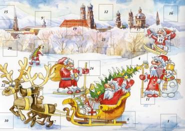 Weihnachtskarten adventskalender kaagenbraassemvoetbal - Weihnachtskarten amazon ...
